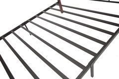 Кровать-кушетка Соната 200x90 (Sonata) Черный/Красный дуб
