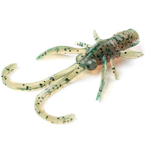 Силиконовая приманка FishUP Baffi Fly цвет № 017 - Motor Oil Pepper