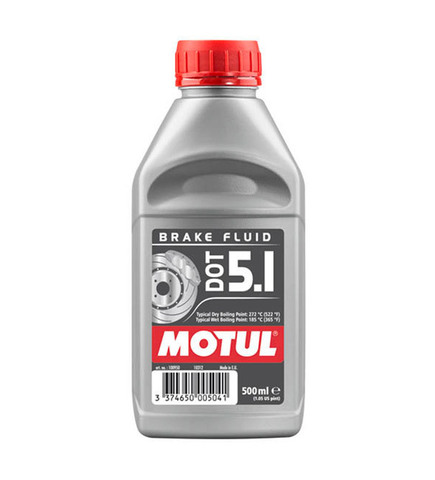 Тормозная жидкость Motul DOT 5.1 BF 500 мл.