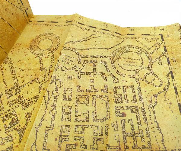Набор Гарри Поттера: письмо из Хогвартса + карта Мародеров