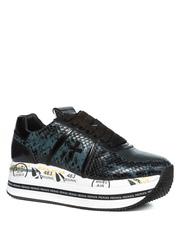 Кожаные кроссовки Premiata Beth 4839 на шнуровке