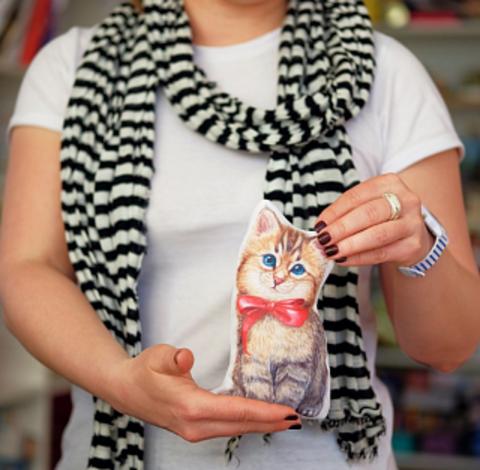 Набор для творчества ПОДАРОК В ЧЕМОДАНЕ Я люблю котиков, 4+