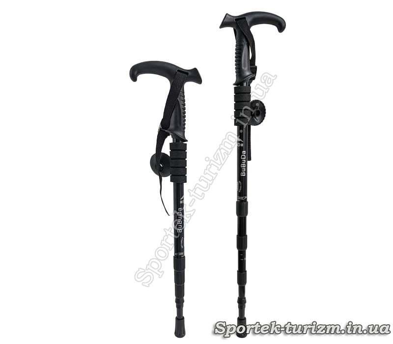 Треккинговые палки BuBuDa (Пара) L= 55-110 см.