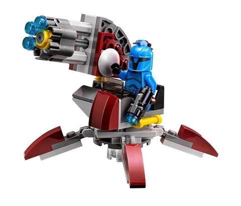 LEGO Star Wars: Элитное подразделение коммандос Сената 75088 — Senate Commando Troopers — Лего Звездные войны Стар Ворз