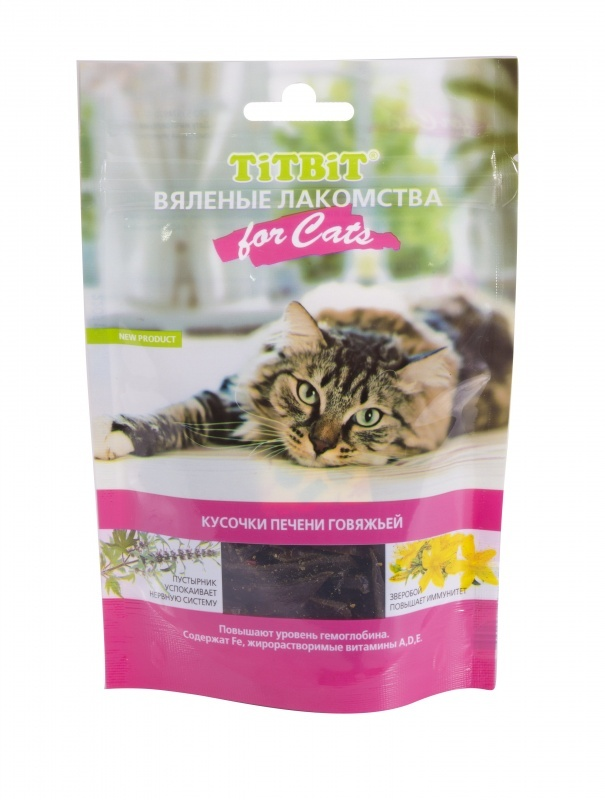 Лакомства Лакомство для кошек TitBit вяленое Кусочки печени говяжьей 805b78f3-1a2b-4c05-bd4f-3d2daba507c2_cb78bd8f-e48e-11e6-9eba-003048b82f39.resize1.jpeg