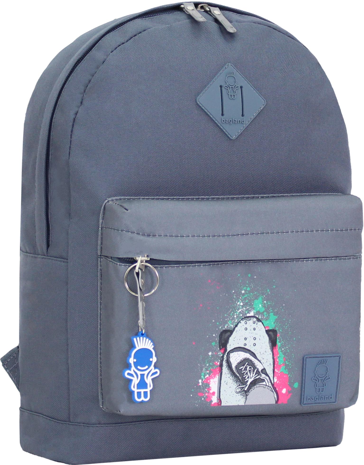 Городские рюкзаки Рюкзак Bagland Молодежный W/R 17 л. серый 199к (00533662) IMG_0980_199к.JPG