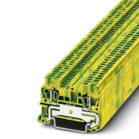 Заземляющий клеммный модуль с пружинными зажимами - ST 1,5-PE - 3031513