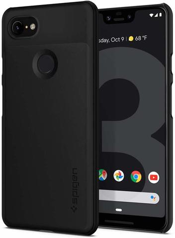 Чехол Spigen Thin Fit для Google Pixel 3 XL Case (2019) - Black