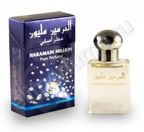 Пробники для духов Харамайн Миллион Haramain Million 1 мл арабские масляные духи от Аль Харамайн Al Haramin Perfumes