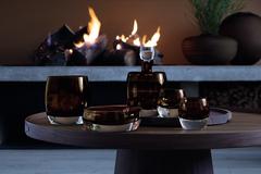 Декантер Whisky Club, 1,05 л, коричневый, фото 4