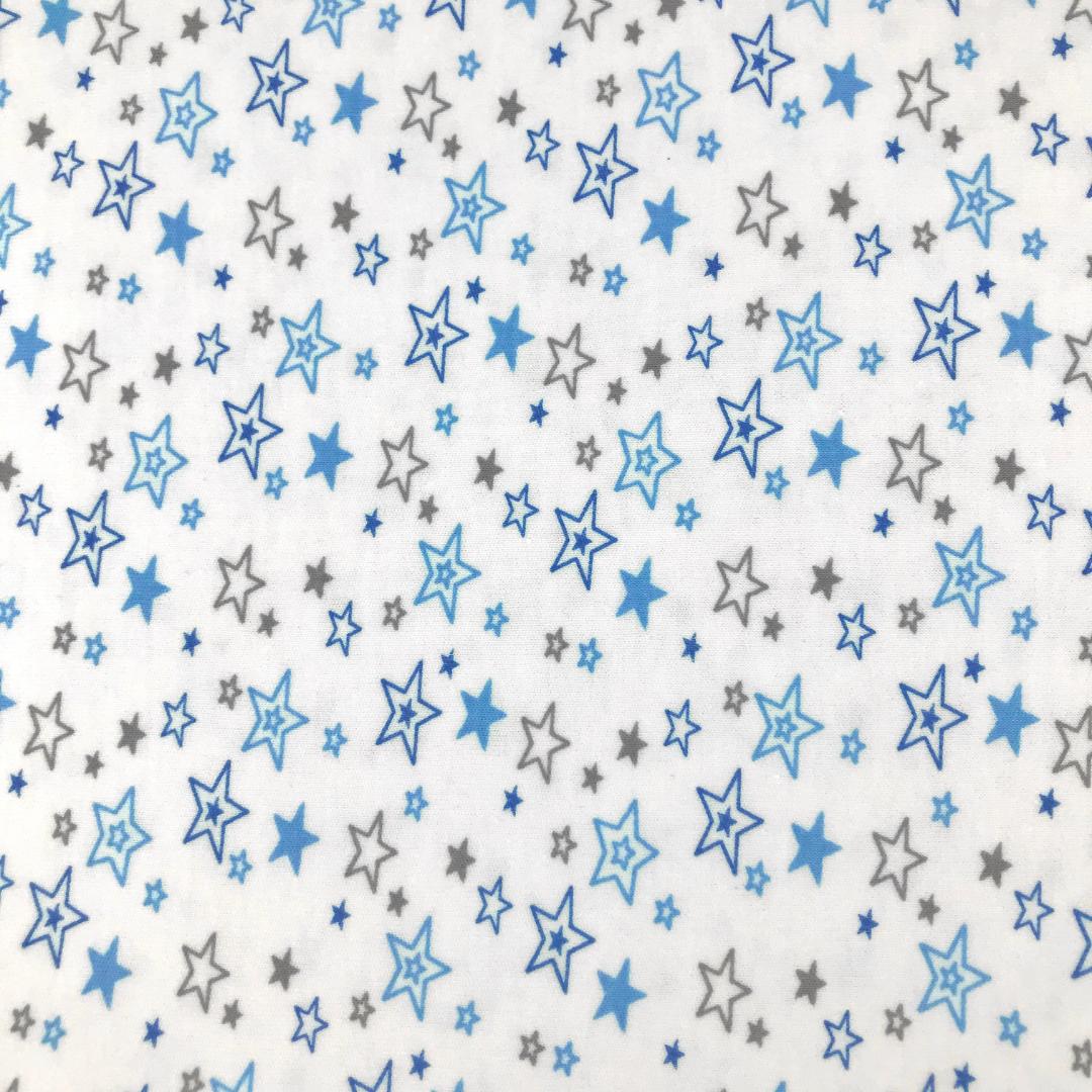 PREMIUM звездопад - Детская простыня на резинке 80х170