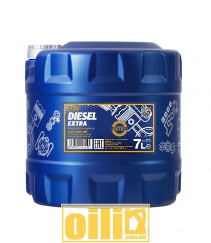 Mannol 7504 DIESEL EXTRA 10W-40 7л
