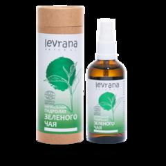 Натуральная цветочная вода Зеленого чая 100% гидролат, 100ml ТМ Levrana