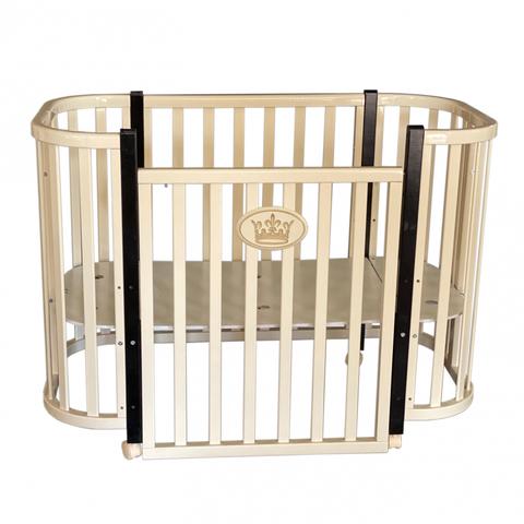 Кроватка-трансформер Антел Esenia 1 автостенка (колесо)