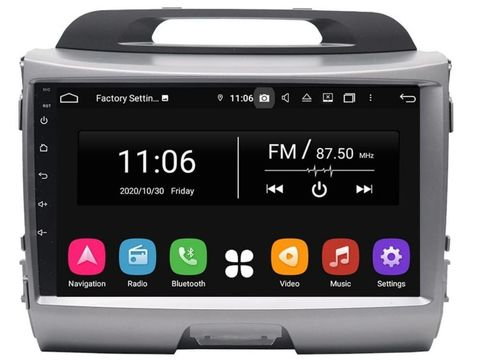 Магнитола для Kia Sportage (10-15) Android 10 4/64GB IPS DSP модель KD-1885PX5