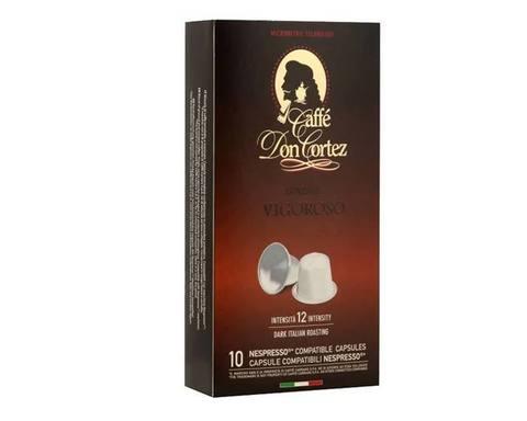 Кофе в капсулах Carraro Don Cortez Vigoroso