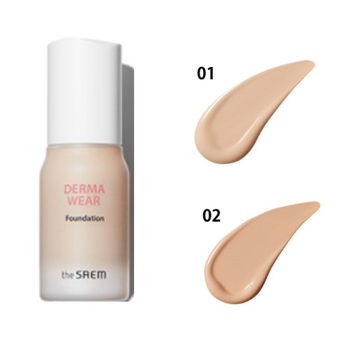 СМ Derma Wear Тональная основа Derma Wear Foundation 02 Natural Beige