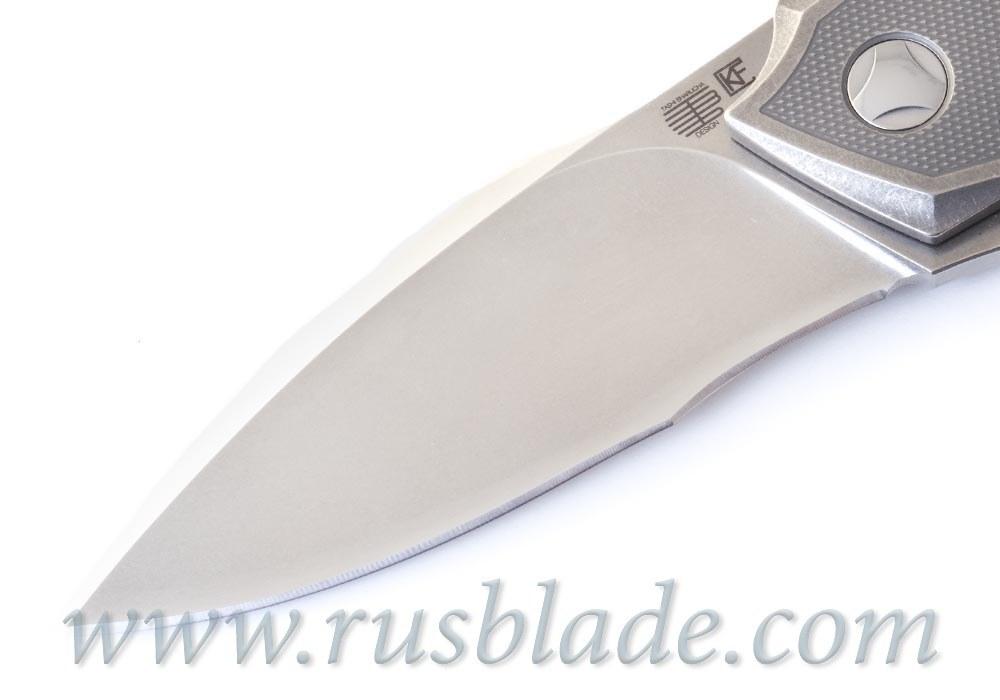 Muscle PROTOTYPE CKF and Tashi Bharucha NEW Knife - фотография
