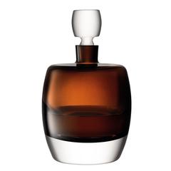 Декантер Whisky Club, 1,05 л, коричневый, фото 5