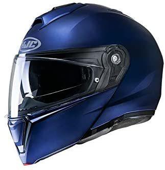HJC I90 Flat Metal Blue
