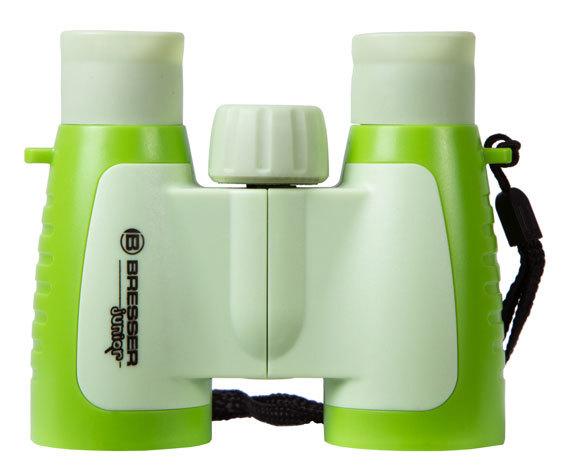 Бинокль детский Bresser Junior 3x30 зеленый - фото 3 - Roof призмы
