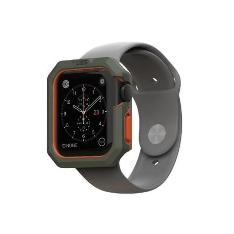 Чехол UAG Civilian Watch Case для Apple Watch 44/42 оливково/оранжевый (olive drab/orange)