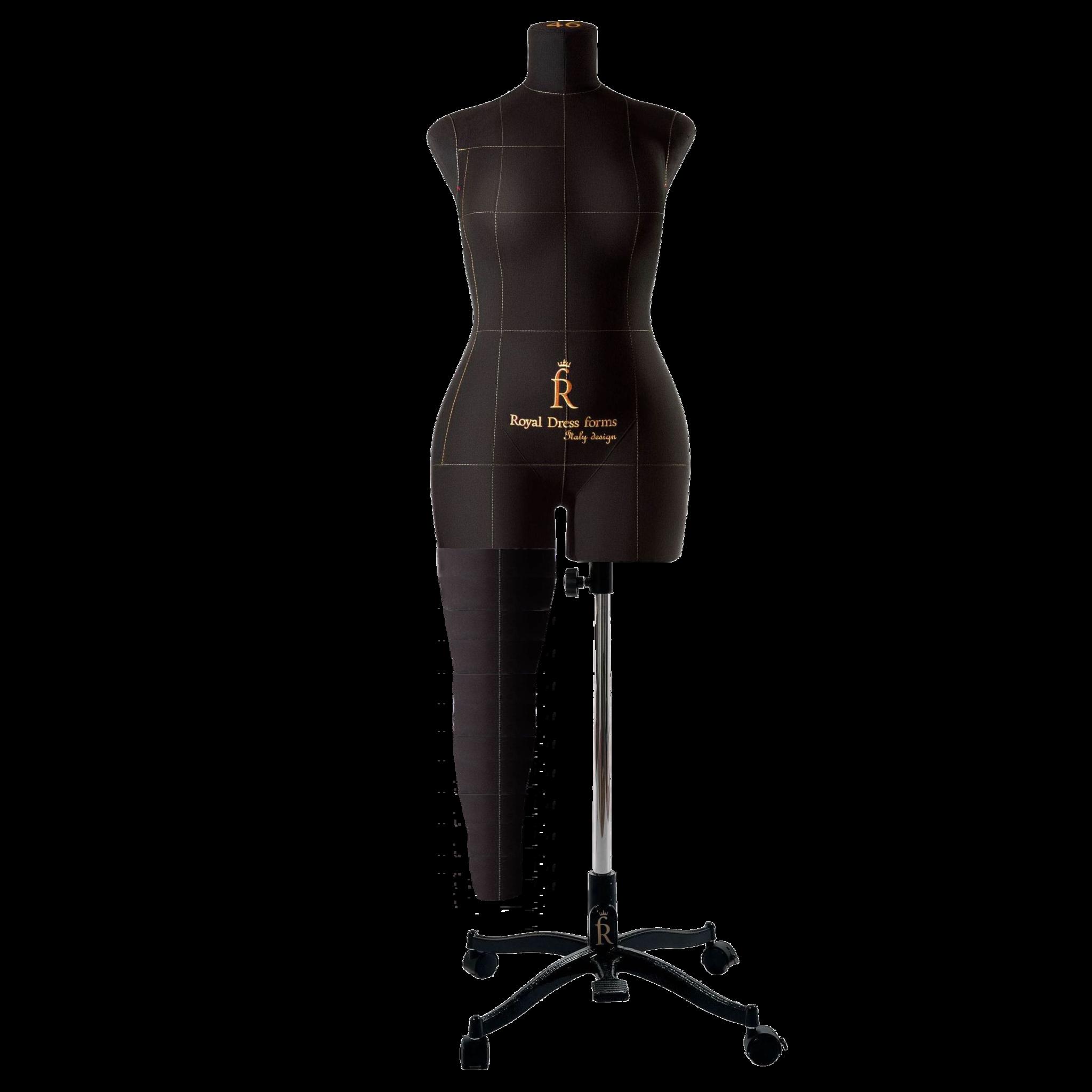 Нога черная для манекена Моника, размер 46Фото 0