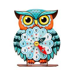 Обучающая игра часы Совушка, Smile Decor П901
