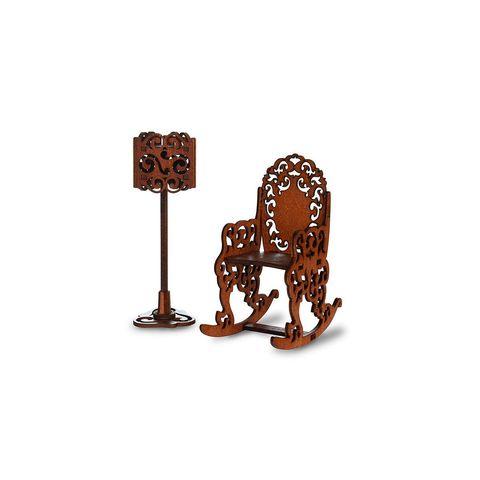 ЯиГрушка Качалка и торшер (коричневый) арт. 59418