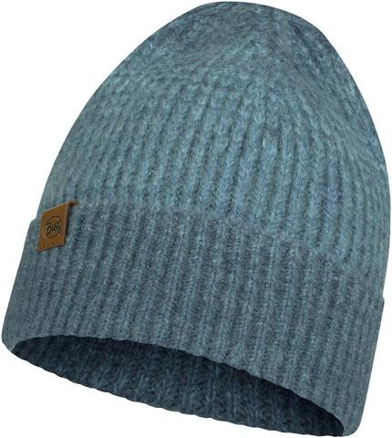 Вязаная шапка Buff Hat Knitted  Marin Denim фото 1