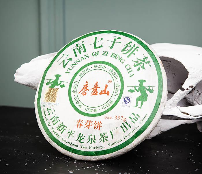TEA-CH130 Старый Шен Пуэр «Мо Пань Шань» (Юньнань,12 лет) фото 02