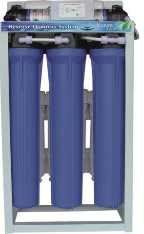 Система обратного осмоса NatureWater с насосом NW-ROC4-400GPD(до 1550л/сут)