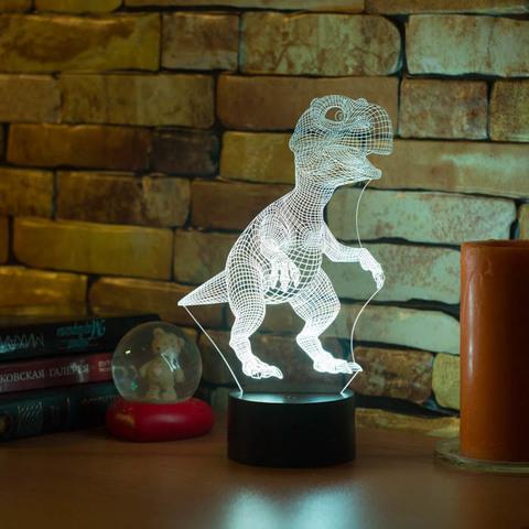 3D лампа Тираннозавр Рекс
