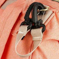 Mommy Bag. Сумка-рюкзак для мамы, персик вид 11