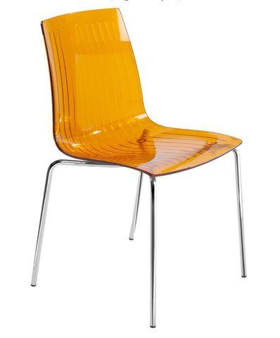 Стул X-Treme S (Papatya) 33 Orange transparent - Апельсиновый прозрачный