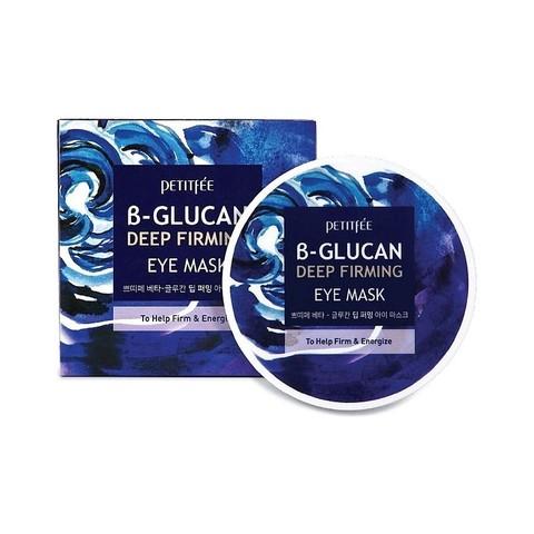PETITFEE B-Glucan Deep Firming Eye Mask Патчи для глаз с бета-глюканом (60 шт)