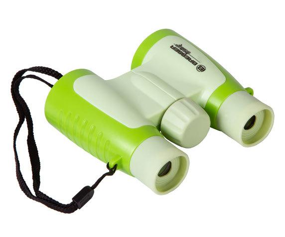 Бинокль детский Bresser Junior 3x30 зеленый - фото 5 - мягкие наглазники