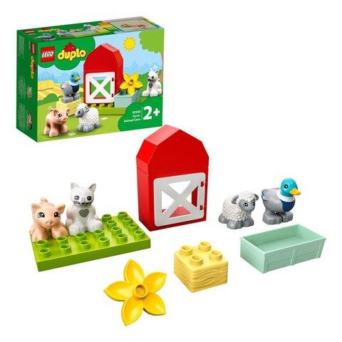 Конструктор LEGO DUPLO 10949 Уход за животными на ферме
