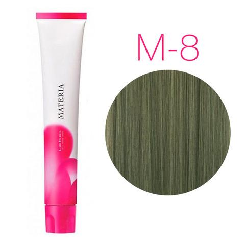 Lebel Materia 3D M-8 (светлый блондин матовый) - Перманентная низкоаммичная краска для волос
