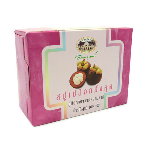 Мыло на основе экстракта мангостина, ABHAIBHUBEJHR. 100 гр.