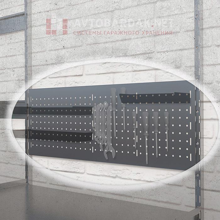 Металлическая перфопанель (съемная, зацепы на вертикальные направляющие IF)