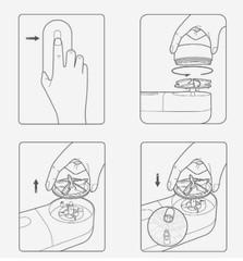 Сменное лезвие для удалителя катышков Xiaomi Mijia Rechargeable Lint Remover MQXJQDT01KL