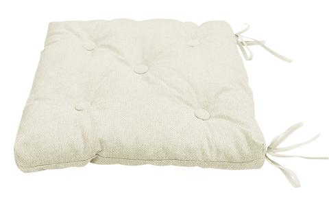 Подушка на стул Адриана бежевый крем