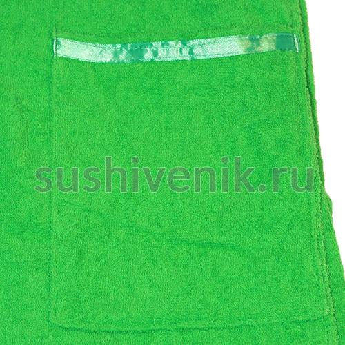 Парео зеленого цвета