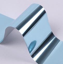 Фольга для дизайна ногтей (голубая)