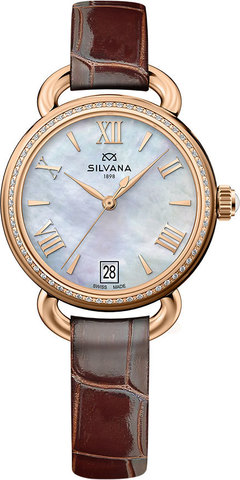 Часы женские Silvana SR33QRD15CB Sincelo