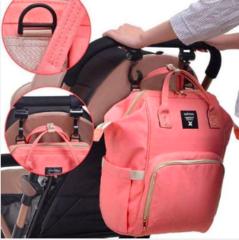 Mommy Bag. Сумка-рюкзак для мамы, персик вид 4