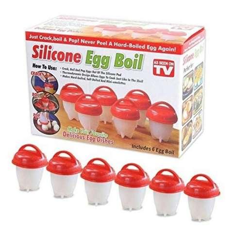Чаша для варки яиц Silicone Egg Boil