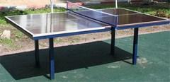 Стол теннисный стационарный, всепогодный, уличный.