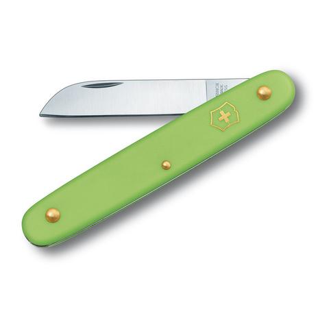 Нож Victorinox EcoLine Floral, 100 мм, 1 функция, салатовый